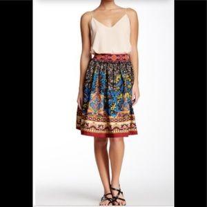 Flying Tomato bright patterned skirt